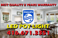 1# BEST QUALITY PHILIPS® LED POT LIGHTS INSTALLATION FROM $55