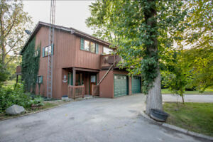 Year-round Waterfront Property with Boat Docking near Grand Bend