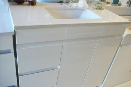 Brand NEW 900mm Cesar Stone Bench Top Vanity Soft close Cupboard Woy Woy Gosford Area Preview