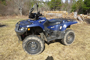 2010  Suzuki 450 King Quad 4 wheel Drive.
