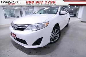2012 Toyota Camry LE   - $108.47 B/W