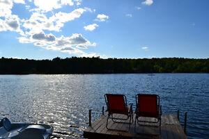 CHALET A VENDRE - Bord de L'eau - Estrie - Lac Denison