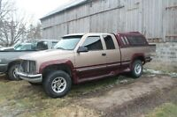 Parting out 88-98 chevy/gmc truck parts