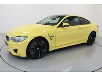 2016 66 BMW M4 3.0 2D AUTO 426 BHP-1 OWNER-RARE DAKAR YELLOW-ONLY COVERED 800 MI