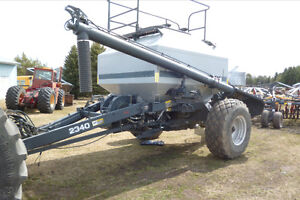 57ft flexicoil air drill with 2340 cart