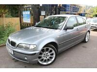 BMW 320 SE Automatic Grey 4 Door Sat Nav Leather Automatic Long MOT