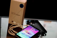 Samsung Galaxy note 4!  With otterbox case!