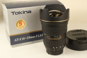 Tokina AT-X Pro FX 16-28mm F2.8 Lens for Canon EOS