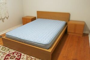 IKEA Malm double/full bed with a matress