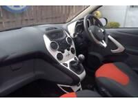 2014 Ford Ka 1.2 Zetec 3-Door Hatchback Petrol red Manual