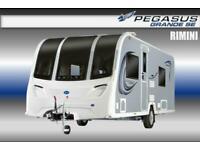 Bailey Pegasus Grande SE Rimini, New 2021, 4 Berth, Touring Caravan