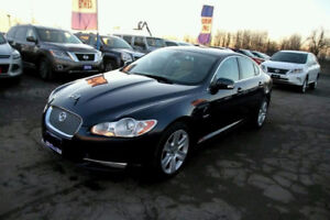 Jaguar XF Sedan with ultimate beige interior