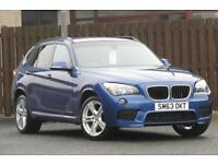 2014 BMW X1 2.0 XDRIVE18D M SPORT 5DR ESTATE DIESEL