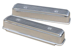 Finned valve covers for Buick nailhead 364 , 401 , or 425 .