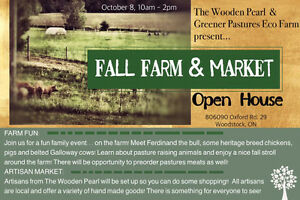 Fall Farm and Market Open House