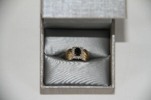1 Carat Sapphire and Diamond Ring – New, Never Worn