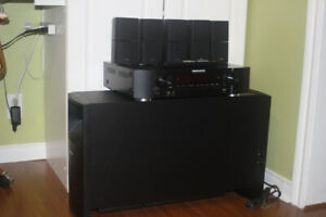 Bose and Marantz Home Theater
