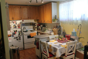Basement apartment for rent in North York