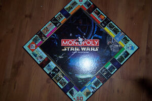 Limited Edition Star Wars Monopoly Complete with 9 Figures Cornwall Ontario image 3