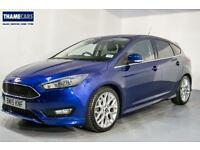 """2015 Ford Focus 1.5 Ecoboost 150ps Zetec S With 18"""" Alloy Wheels, Sat Nav and Pr"""