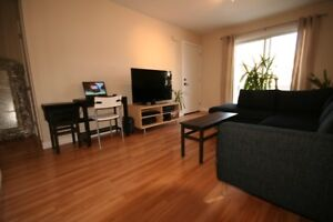 ROSEMONT;condo 1 chambre meublé/équipé + tout inclus, dispo AOUT