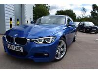 2017 17 BMW 3 SERIES 3.0 330D M SPORT 4D AUTO-1 OWNER-LOW MILEAGE-OYSTER DAKOTA