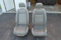 GREY LEATHER MUSTANG SEATS 05/09 NICE