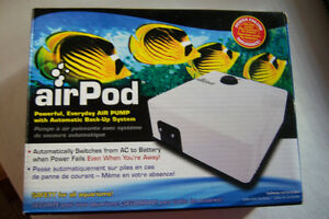 Aquarium AIR PUMP ..Auto back up !!!!