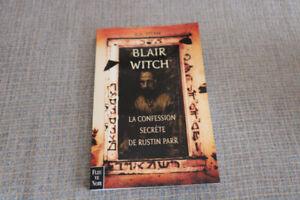 Roman Blair witch - La confession secrète de Rustin Parr