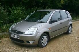 Only 41798 Mile FORD FIESTA 1.4 GHIA with FULL SERVICE HISTORY and WARRANTY