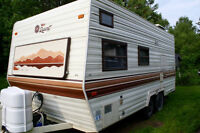 1987 Taurus Terry Resort Travel Trailer Camper Neat and Tidy