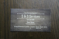 S & S Handyman Services