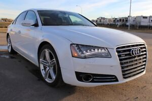 2013 Audi A8 4.0T, Loaded - Night Vision, Extended Warranty, etc