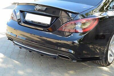 Diffusor ansatz Mercedes CLS W218 Heck Ansatz hinten DTM Splitter AMG 63 65 500