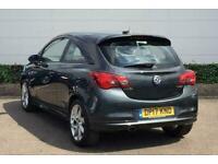 2017 Vauxhall Corsa 1.4T [100] SRi Vx-line 3dr Hatchback Manual Hatchback Petrol