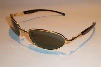 USA Vision Sonnenbrille Aviator Pilot MSPTB2 Metall gold schwarz Herren neu