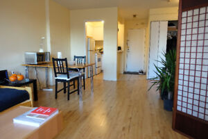 1030$/1br Lease transfer for beautiful 3½ in Milton Park Jan 1