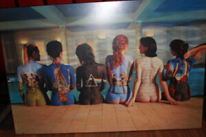Large 24X36 Pink Floyd Album Covers Wall Art