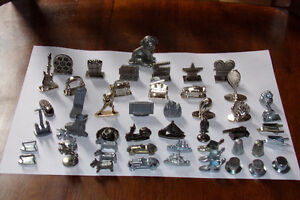 LARGE LOT Monopoly Scene It Game Tokens 50 Pieces Parts