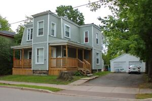 Rental income with Large lot and a garage downtown Moncton