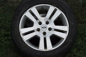 2006 to 2012 ford fusion factory aluminium rims and summer tires