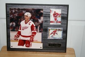 Steve Yzerman Plaque