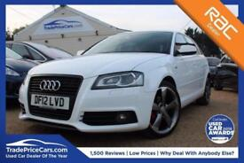 2012 02 AUDI A3 2.0 SPORTBACK TDI S LINE SPECIAL EDITION 5D 138 BHP DIESEL