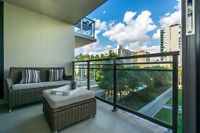 AMAZING RIVER VIEWS AT DOWNTOWN NEW WEST! 1 bed + den, 1 bath