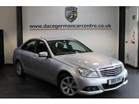 2011 11 MERCEDES-BENZ C CLASS 2.1 C220 CDI BLUEEFFICIENCY SE 4DR 168 BHP DIESEL
