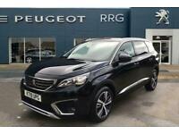 2019 Peugeot 5008 1.2 PureTech Allure (s/s) 5dr Petrol black Manual