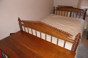 Antique Spool Bed