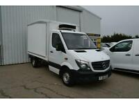 40e436cdfddc2b 2014 Mercedes-Benz Sprinter 2.1 CDI 313 Refrigerated Van 2dr MWB Diesel  white Ma