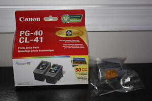 Canon 40/41 ink cartridges