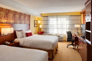 Courtyard by Marriott London - Room, 2 Queen,January 20-26th